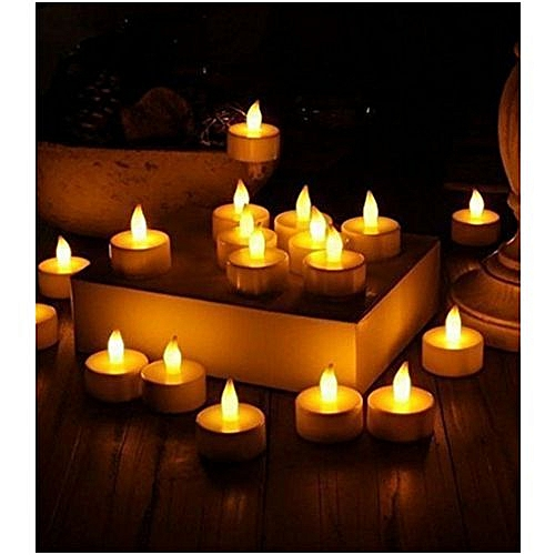 Tea Light Candles - 50 Pcs