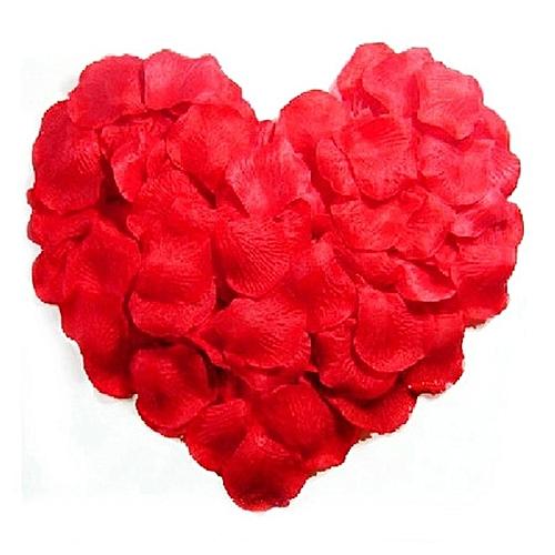 Rose Petals Flower Favors For Wedding Party Decoration Red - 300pcs