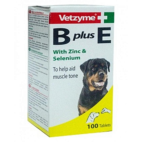 Vetzyme B Plus E Tablets For Dogs - 100Tabs