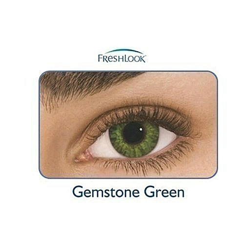 1pack Contact Lens - Gemstone Green