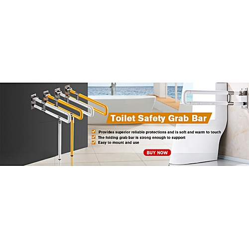 Disabled Elderly Toilet Safety Grab Bar Handrail Hospital Bathroom Handrail