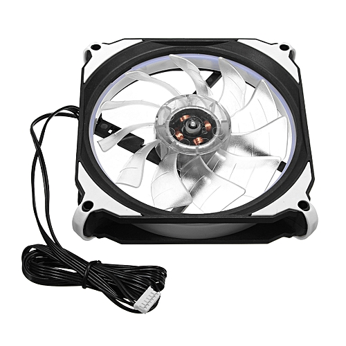 RGB LED Quiet Computer Case PC Cooling Fan 120mm With Remote Control