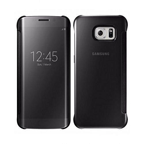 size 40 64619 387b2 Samsung Galaxy S7 Edge Pouch /Flip Case, Black | Jumia.com.ng