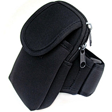 213008477b3 Unisex Portable Lightweight Pockets Outdoor Sports Armband Bag For 5.5inch  Cellphone Color black