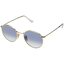 8c6307ed1a Ray-Ban RB3447 53mm - One Size - Arista Gold Light Blue Gradient