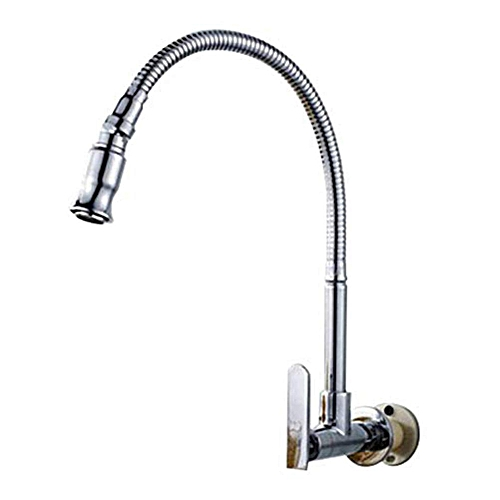 Stainless Steel Chrome Finish Kitchen Sink Faucet Pull Down Single Handle Arbitrary Rotating Bar Beverage Station Motor Home Lavatory Tap With Flexible Gooseneck