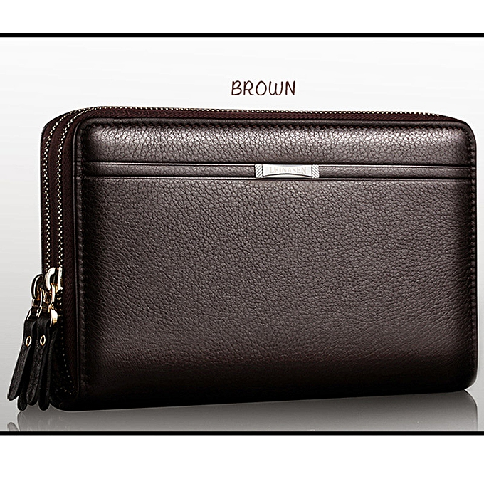 59b8e7865870 Men Wallets With Coin Pocket Long Zipper Coin Purse For Men Clutch Business  Male Wallet Double Zipper Vintage Large Wallet Purse