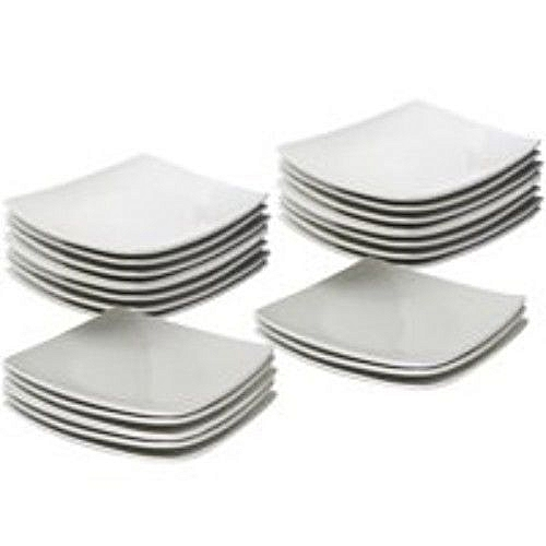 Unbreakable Ceramic Plates (12pieces)