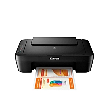 Pixma E414 Ink Efficient All-In-One Photo - Print, Scan & Copy Printer - Black (FS)