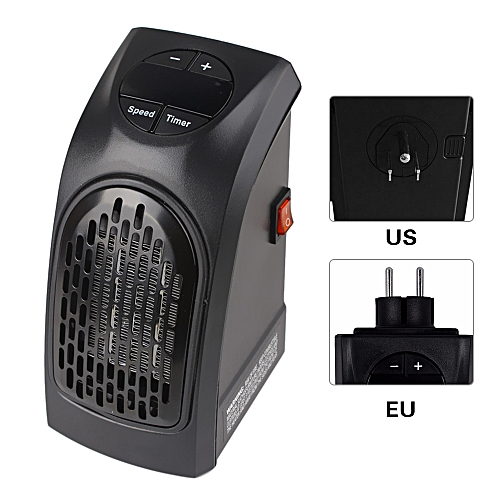 Portable Mini Electric Handy Air Heater Warm Fan Blower Room Fan Electric Heater Radiator Warmer For Office Home EU Plug