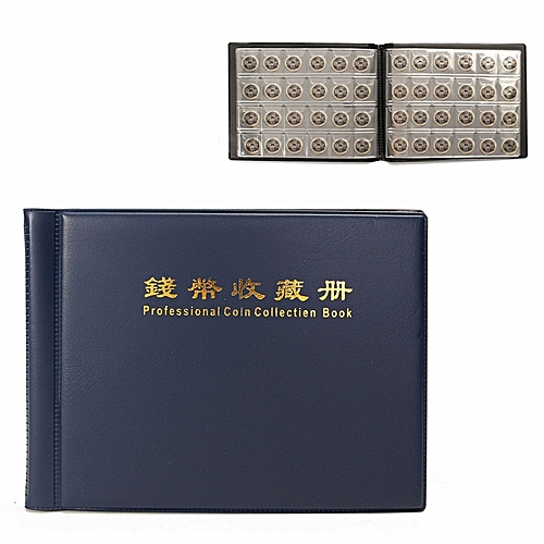 Generic 10 Pages 240 Holders Units Coin Collection Book Album Collect Money Penny Coin Album Book For Coins Collecting