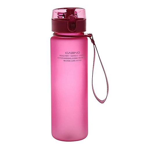 Eleganya 400ml Simple Scrub Plastic Cup Unisex Portable Sports Water Cup