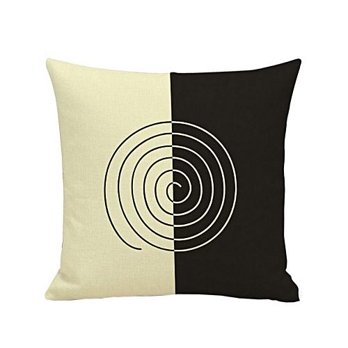 Fashion European Home Decor 45*45cm Cotton Linen Cushion Cover Throw Pillow Case E