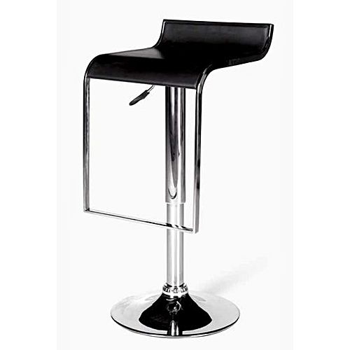 NEW Gas Bar Stool -Leather And Chrome