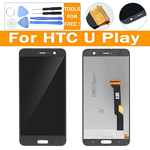Replace For HTC U Play Black LCD Display + Touch Screen Digitizer Assembly