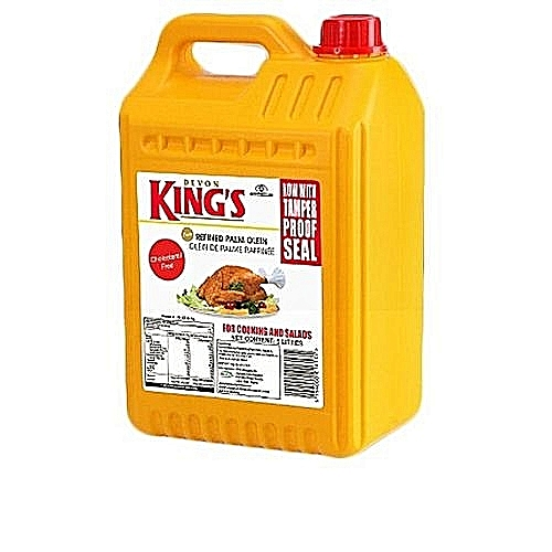 Kings Pure Vegetable Oil - 5L