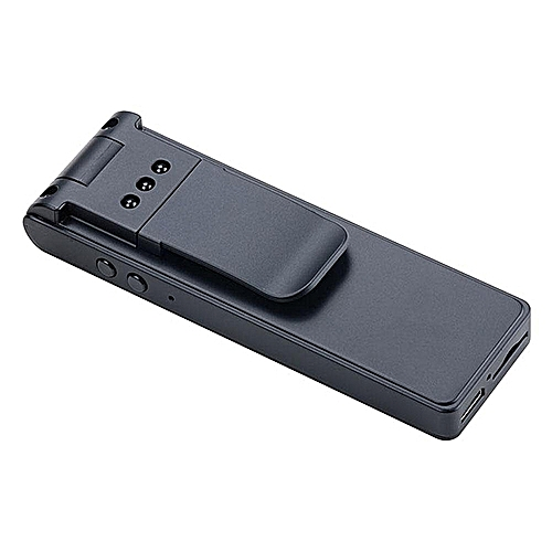 HD 1080P Mini Camera Night Vision Back Clip Video Voice Recorder Rotatable DV Camcorder By HT