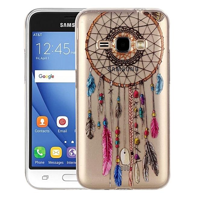 For Samsung Galaxy J1 (2016) / J120 Colour Bell Pattern IMD Workmanship Soft TPU
