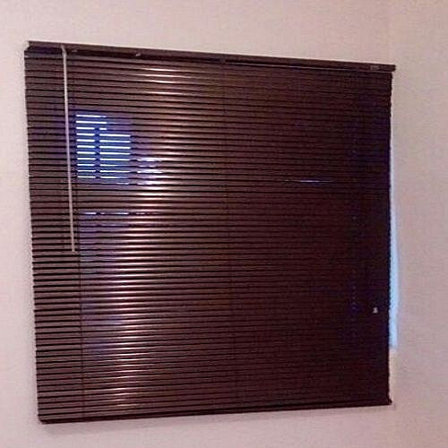 Aluminium Venetian Window Blinds (Dark Brown/ Coffee) Prepaid Only