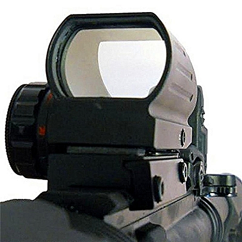 Hunting Optics 1x22x33 Compact Reflex Red Green Dot Sight Scope 4Reticle Sight For Airsoft With Weaver 20mm Mount