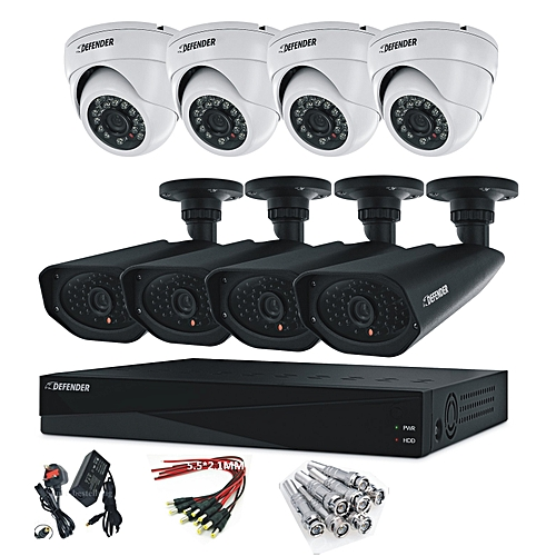 AHD 8 Channel CCTV Security Camera - 1 DVR