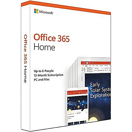 Office 365 Home Subscription Premium - 5 Users