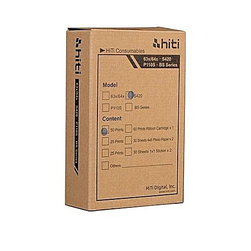 Hiti Hiti S420 Ribbon And Photo Printing Paper