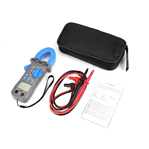 HYTAIS TS201 Digital Clamp Meter 600A Auto Ranging Multimeter NCV Voltage Tester