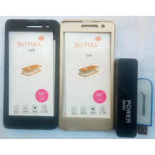 Tecno W4 Case + Free Power Bank & Light Stick
