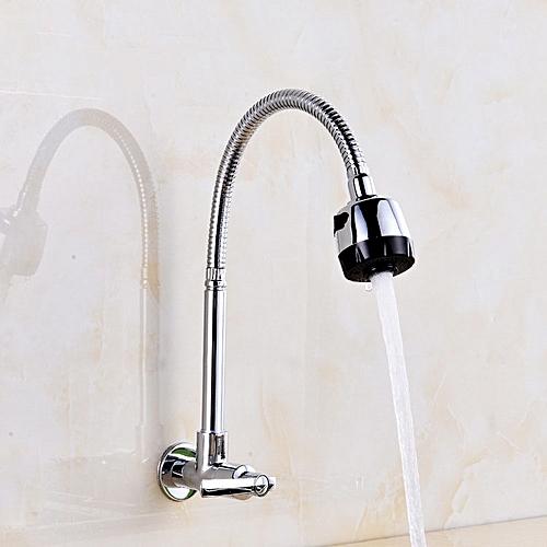 KCASA KC-RF31 360° Rotate Device External Nozzle Faucet Kitchen Basin Sink Single Hole Household Col