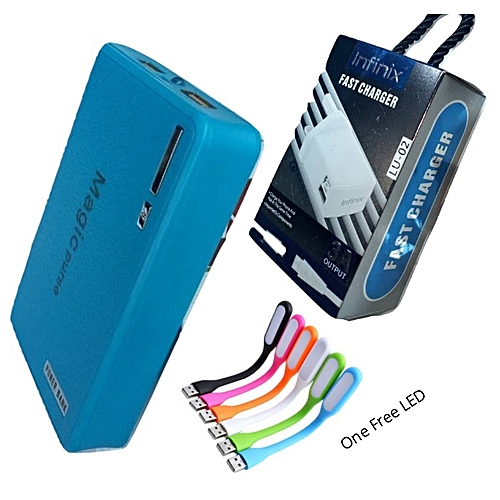 40,000mAh Power Bank Plus An Infinix/Android Charger