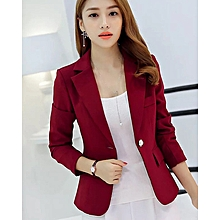 Slim Korean Version Of The New Small Suit Long-Sleeved Fashion Jacket Professional Female Suit