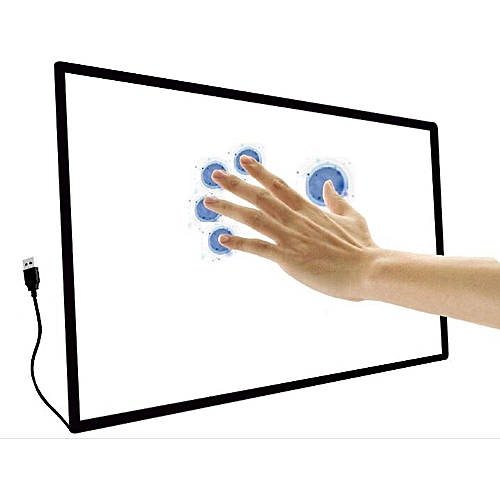43inch 10 Point Multi-touch Infrared Touch Frame, Ir Touch Panel, Infrared Touch Screen Overlay,no Glass.tube Packing,.