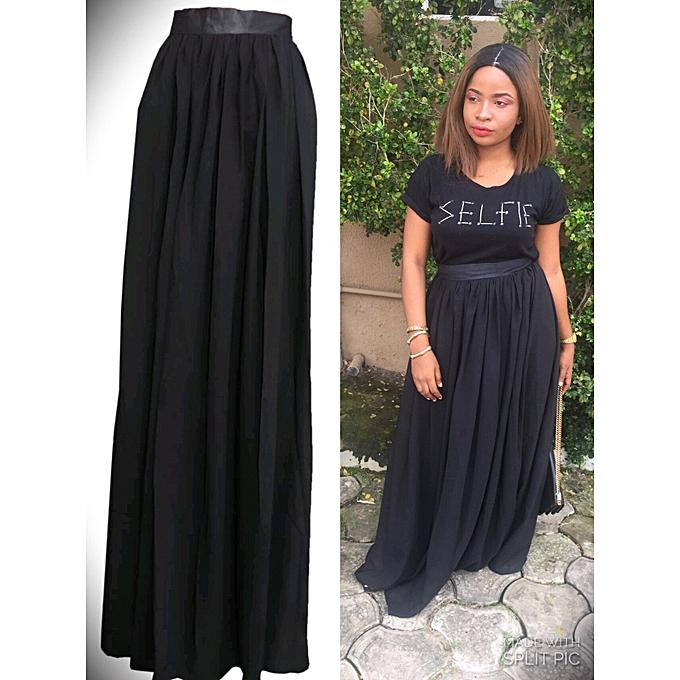 0397df75bded Fashion Chiffon Maxi Skirts | Jumia NG