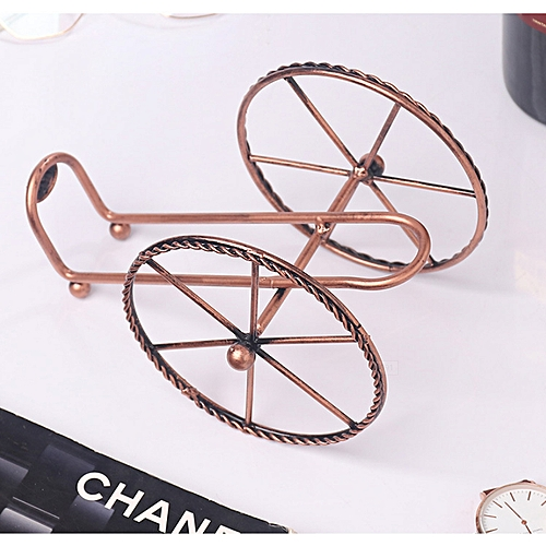 Fashion Home Wrought Iron Wine Rack Decoration Display Stand