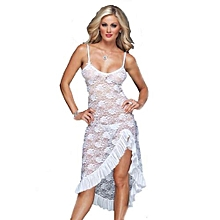 f262f5ba6cc Adies Pajamas Dress G String Seduction - White