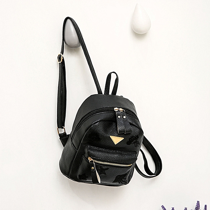 0b8bab90221ca ... Women Girl School Bag Travel Small Backpack Satchel Shoulder Rucksack  Backpack ...