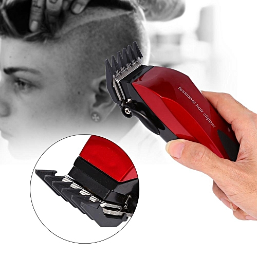 Generic Hair Clipper Electric Trimmer Barbering Shaver Hair Cutting Machine (EU Plug). By Generic. Have one ...