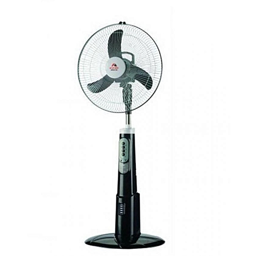 """18"""" Rechargeable Fan With Remote Control And USB Port"""
