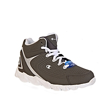 95f21bf6a13ed Boy  039 s Mid Top Light Weight Sneakers - White Grey