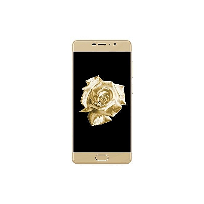 6 5.5-Inch IPS (3GB, 32GB ROM) Android 7.1 Nougat, 16MP + 8MP Hybrid Dual SIM LTE Smartphone - Copper
