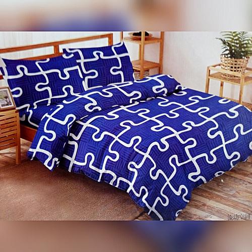 PREMIUM BLUE DUVETS AND BEDSHEETS