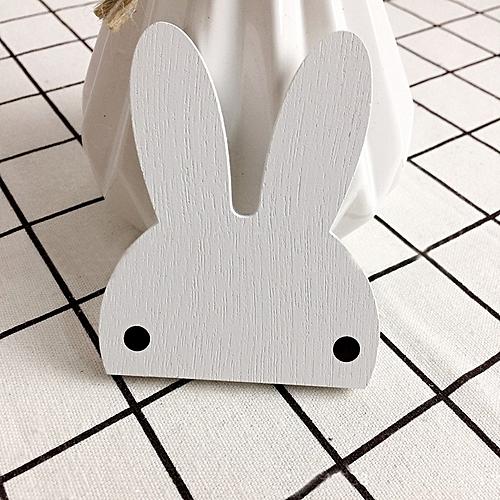 Fashion Rabbit Shape Hook Wall Hangers Rack Organizer Kids Room Hanging Decor