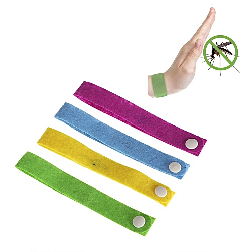 Anti Mosquito Mozzie Insect Pest Bugs Repellent Repeller Wrist Bands Bracelet NEW