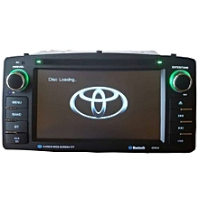 toyota corolla 2006 audio system