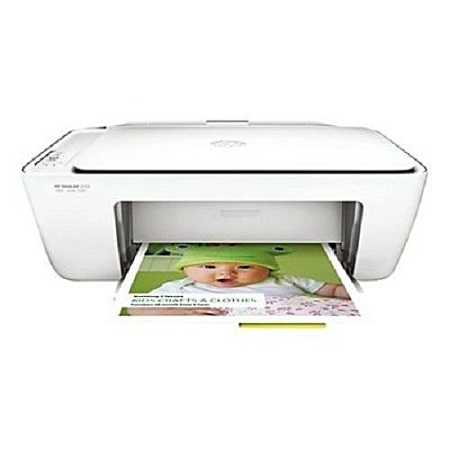 Deskjet 2132 All-in-One Colour And Black & White Printer - Copier - Scanner Wired + USB Cable