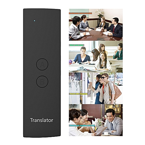 Portable Voice Translator Learning Meeting Travel Handheld Multi-language Simultaneous Fast Business Real Time ASQOA