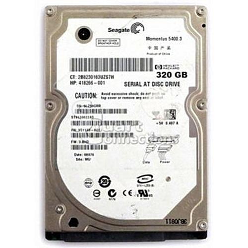 320GB SATA Laptop Internal Hard Drive