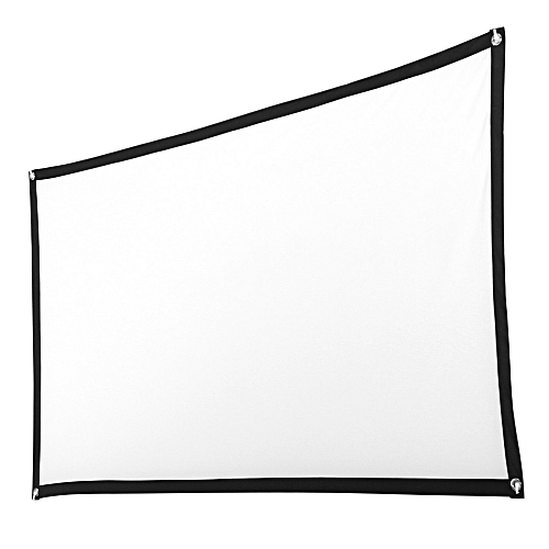 100inch HD Projector Screen 16:9 Home Cinema Theater Projection Portable Screen