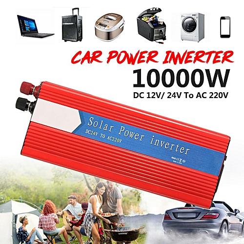10000W Car Power Inverter 24V To AC 220V USB Modified Sine Wave Converter